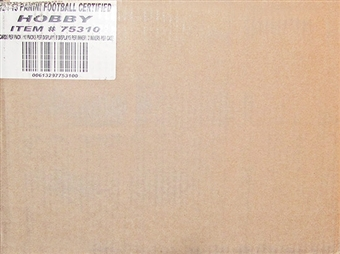 2012 Panini Certified Football Hobby 24-Box Case