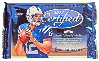 2012 Panini Certified Football Hobby Pack
