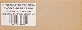 2012 Panini Cooperstown Baseball 8-Pack 20-Box Case