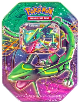 2013 Pokemon Best of Black and White Tin - Rayquaza