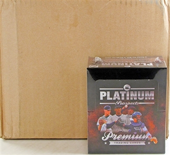 2012 Onyx Platinum Prospects Baseball Hobby 6-Box Case