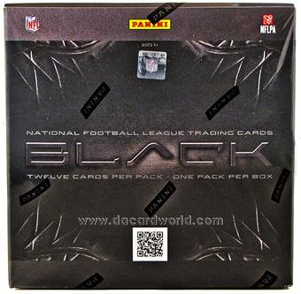 2012 Panini Black Football Hobby Box - WILSON & LUCK ROOKIES!