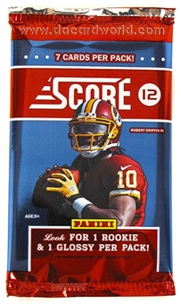 2012 Score Football Pack - WILSON & LUCK ROOKIES!