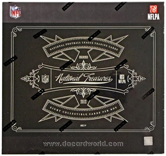 2012 Panini National Treasures Football Hobby Box (Slightly Torn Wrap)
