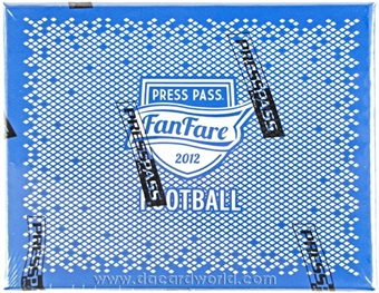 2012 Press Pass Fanfare Football Hobby Box
