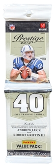 2012 Panini Prestige Football Retail Rack Pack