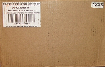 2012 Press Pass Redline Racing Hobby 20-Box Case