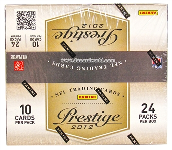 2012 Panini Prestige Football Retail 24-Pack Box