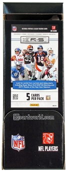 2012 Panini Rookies & Stars Football 5-Card 36-Pack Box