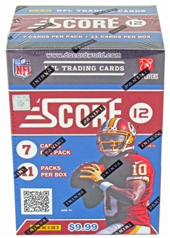 2012 Score Football 11-Pack Box - WILSON & LUCK ROOKIES!