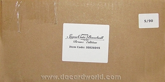 2012 TriStar SignaCuts Bronx Edition Baseball Hobby 12-Box Case