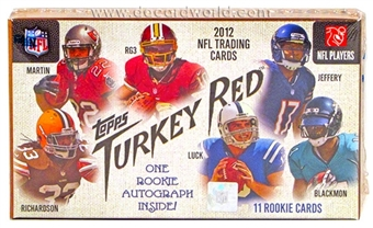2012 Topps Turkey Red Football Box