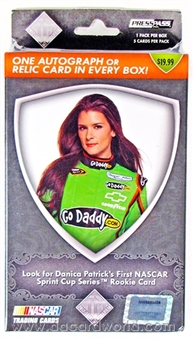 2012 Press Pass Total Memorabilia Racing Blaster Box