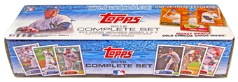 2012 Topps Factory Set  Baseball (661 Cards PLUS One Mickey Mantle Chrome Card!)
