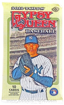 2012 Topps Gypsy Queen Baseball Hobby Pack