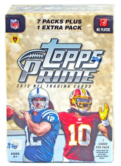 2012 Topps Prime Football Blaster 8-Pack Box (10-Box Lot)