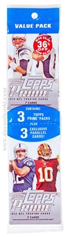 2012 Topps Prime Football Value Pack (Lot of 12)