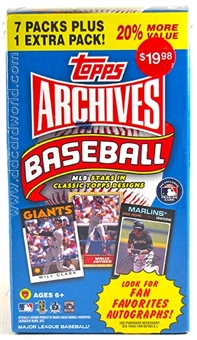2012 Topps Archives Baseball 8-Pack Box