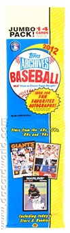 2012 Topps Archives Baseball Rack Pack