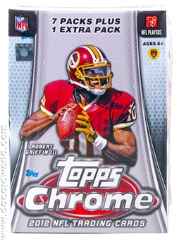 2012 Topps Chrome Football 8-Pack Box