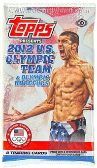 2012 Topps U.S. Olympic Team & Hopefuls Hobby Pack