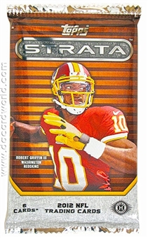 2012 Topps Strata Football Hobby Pack