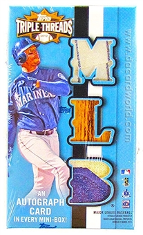 2012 Topps Triple Threads Baseball Hobby Mini Box (Pack)