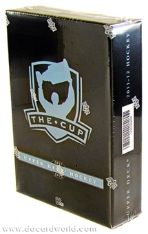 2011/12 Upper Deck The Cup Hockey Hobby 6- Box Case - DACW Live Random 28 Spot Team Break