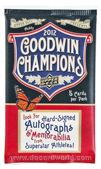 2012 Upper Deck Goodwin Champions Hobby Pack