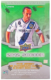 2012 Upper Deck Soccer Hobby Box