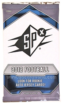 2012 Upper Deck SPx Football Hobby Pack