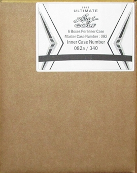 2012 Leaf Ultimate Golf Hobby 6-Box Case