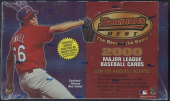 2000 Bowman's Best Baseball Retail Box