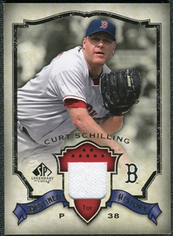 2008 Upper Deck SP Legendary Cuts Destined for History Memorabilia #CS Curt Schilling