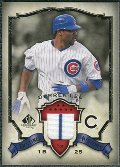 2008 Upper Deck SP Legendary Cuts Destined for History Memorabilia #DL Derrek Lee