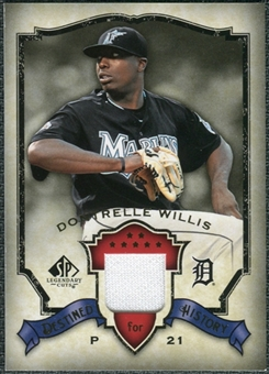 2008 Upper Deck SP Legendary Cuts Destined for History Memorabilia #DW Dontrelle Willis