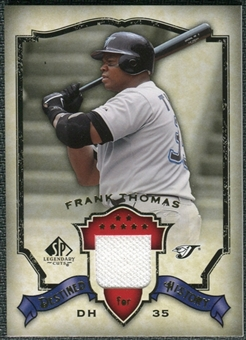 2008 Upper Deck SP Legendary Cuts Destined for History Memorabilia #FT Frank Thomas