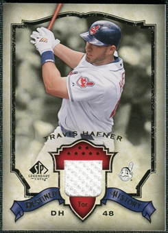 2008 Upper Deck SP Legendary Cuts Destined for History Memorabilia #HA Travis Hafner