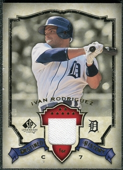 2008 Upper Deck SP Legendary Cuts Destined for History Memorabilia #IR Ivan Rodriguez