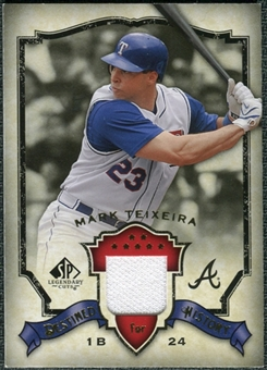 2008 Upper Deck SP Legendary Cuts Destined for History Memorabilia #MT Mark Teixeira