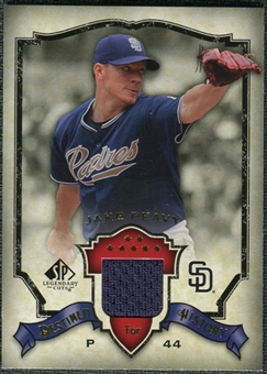 2008 Upper Deck SP Legendary Cuts Destined for History Memorabilia #JP Jake Peavy