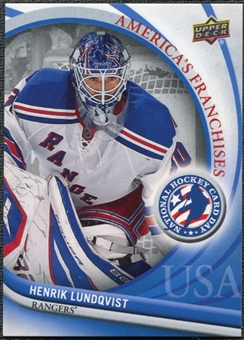 2011/12 Upper Deck National Hockey Card Day USA #3 Henrik Lundqvist