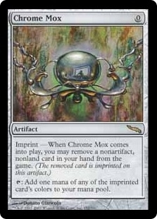 Magic the Gathering Mirrodin Single Chrome Mox FOIL NEAR MINT (NM)