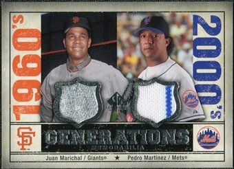 2008 Upper Deck SP Legendary Cuts Generations Dual Memorabilia #MM Juan Marichal Pedro Martinez