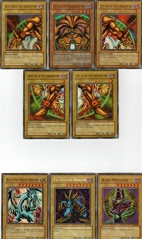 Yu-Gi-Oh Blue Eyes White Dragon Unlimited - A Complete Set