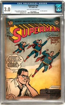 Superman #90 CGC 3.0 (LT-OW) *1301308007*