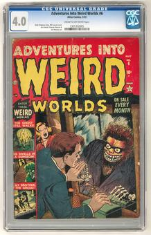 Adventures Into Weird Worlds #6 CGC 4.0 (C-OW) *1301352005*