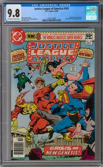 Justice League of America #183 CGC 9.8 (OW-W) *1301377009*