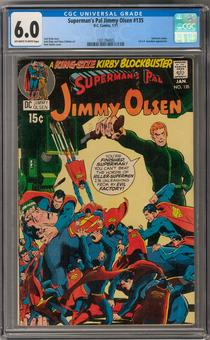 Superman's Pal Jimmy Olsen #135 CGC 6.0 (OW-W) *1301394005*