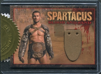 Spartacus Andy Whitfield Relic Card 2-Box Incentive (Rittenhouse 2012)